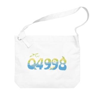 小笠原市外局番グッズ Big shoulder bags
