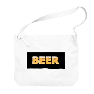 BEER★BLACK Big shoulder bags