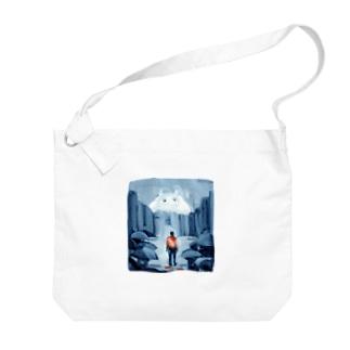 出口えりの街の怪物 Big Shoulder Bag