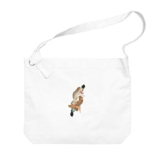 圧縮/限界 Big shoulder bags