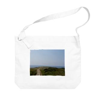 角島 Big shoulder bags