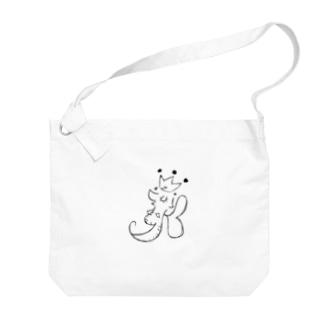 Leafy Isi: DR△G♡N モノクローズ Big shoulder bags