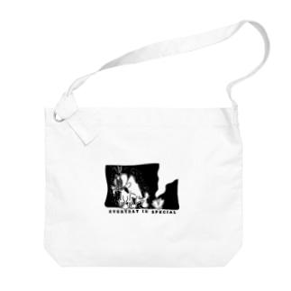 ラリ君 Big shoulder bags