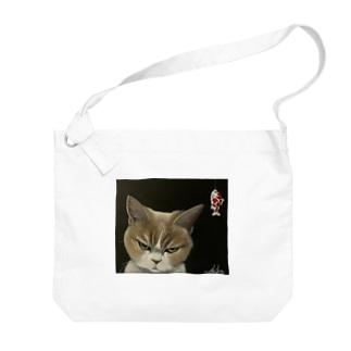 スネコ Big shoulder bags