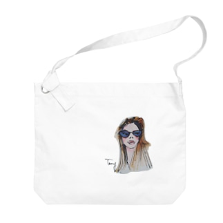 サングラス Big shoulder bags