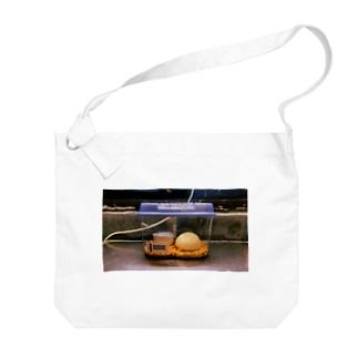 飼育される肉まん Big shoulder bags