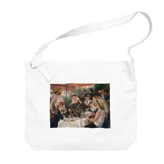 ピエール=オーギュスト・ルノワール 《舟遊びをする人々の昼食》 Big Shoulder Bag