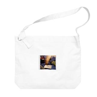 架空のバンドバッグ Big shoulder bags