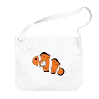 カクレブタノミ(横) Big shoulder bags