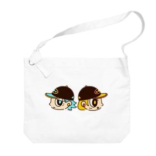 キャップボーイ&キャップガール Big shoulder bags