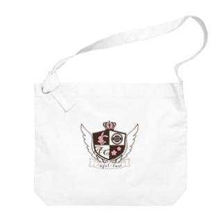 天使クラスロゴ Big Shoulder Bag