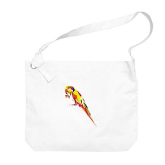 コンゴウインコ Big shoulder bags