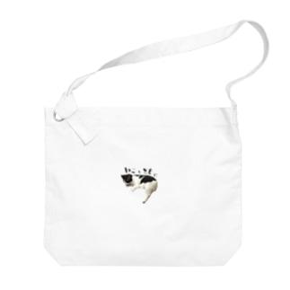 zakkaya 雑貨屋 孵 kaeruのねことともに Big shoulder bags
