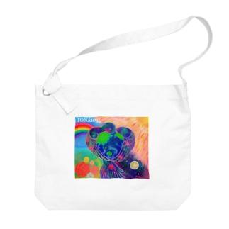 宇宙鳥 Big shoulder bags