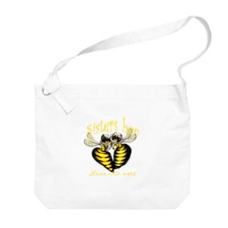 sisters bee 解 Big shoulder bags