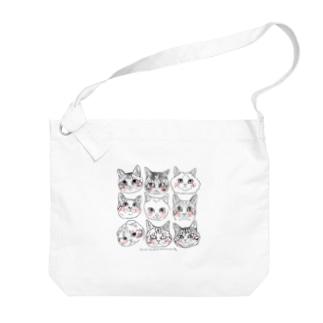 猫猫猫2 Big shoulder bags