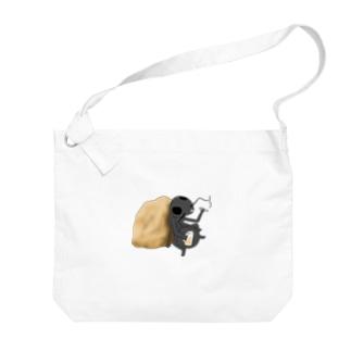 おさぼりさん Big Shoulder Bag