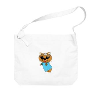 スパイダー猫の幽霊 Big shoulder bags