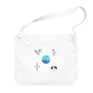 aoashikatsuodori★ Big shoulder bags