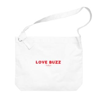 LOVEBUZZ logo RED Big Shoulder Bag