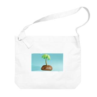 Palm Tシャツ Big shoulder bags