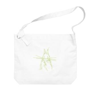 うざぎ Big shoulder bags