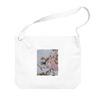 エドマンド・デュラック《眠りの森の美女》より Big shoulder bags