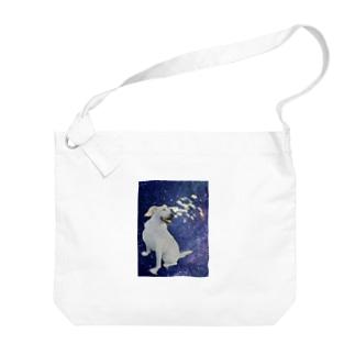 TK-pro(ワンちゃん) Big Shoulder Bag