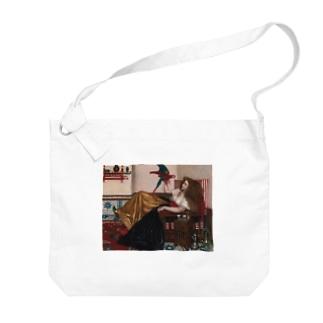 ヴァレンタイン・キャメロン・プリンセプ 《オウムの伝説》 Big shoulder bags