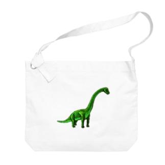 ブラキオサウルス Big shoulder bags