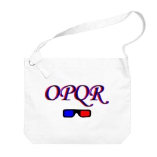 OPQR Big shoulder bags