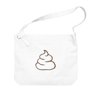 チョコアイスクリーム Big shoulder bags