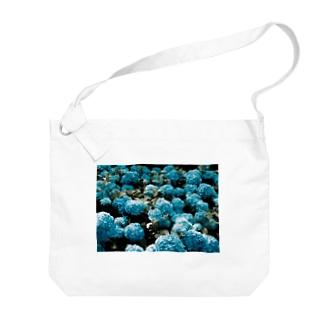 アジサイ Big shoulder bags