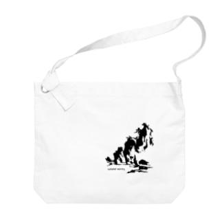 zenkaiグッズBk Big shoulder bags