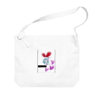 うさぎ♥️女子 Big shoulder bags