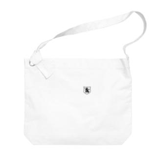 DEVGRU ライオン盾型(ワンポイント 黒) Big shoulder bags
