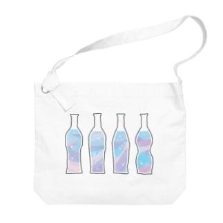 夢色のドリンク Big shoulder bags