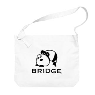 パンダプロレス ブリッジ Big Shoulder Bag
