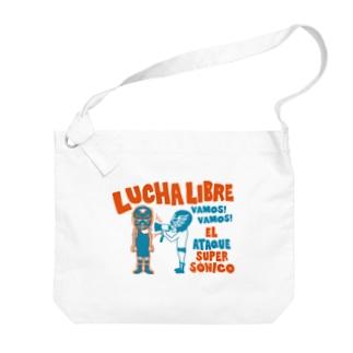 LUCHAのLUCHA LIBRE#33 Big shoulder bags
