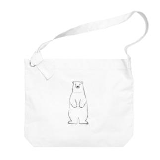 シロクマさん Big shoulder bags