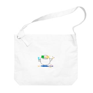 ひよこさんの夏休み 0815 Big shoulder bags