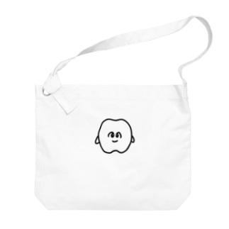 歯のマンガ Big shoulder bags