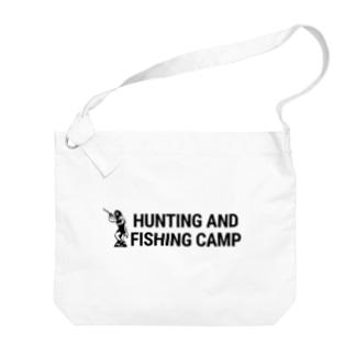 ロゴ横 Big Shoulder Bag