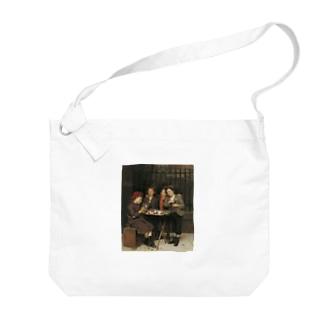 ジョン・ジョージ・ブラウン《タフな顧客》 Big shoulder bags