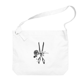 RosexScissors Big shoulder bags