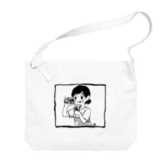 夏のドーピングT Big shoulder bags