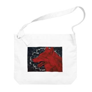 発熱と顕現 Big Shoulder Bag