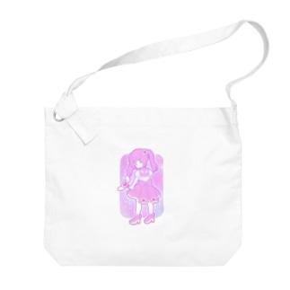 ゆめかわ魔法少女ちゃん Big Shoulder Bag