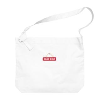 CASH ONLY キャッシュオンリー Big Shoulder Bag