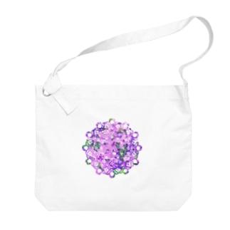 レース編み~芝桜~ Big Shoulder Bag